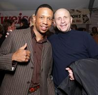Jay Phillips and producer Jimmy Miller at the after party of the premiere of