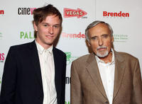 Henry Hopper and Dennis Hopper at the red carpet of the premiere of