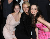 Shannon Walsh, Paulina Olszynski and Emily Meade at the New York premiere of