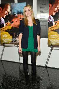 Emily Meade at the New York premiere of