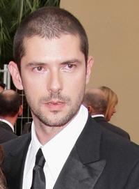 Melvil Poupaud at the premiere of