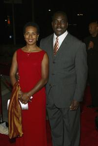 Kimberly Powell and Clifton Powell at the