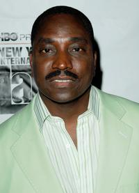 Clifton Powell at the NY Latino International Film Festival premiere of