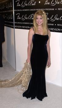Crystal Bernard at the 10th Annual Fire & Ice Ball.