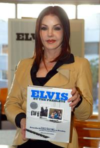 Priscilla Presley signs copies of her new book