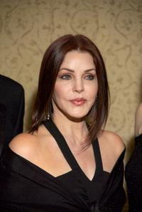 Priscilla Presley at the Rick Weiss Humanitarian Award Gala.