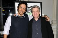 Amir Arison and Richard Poe at the opening night of