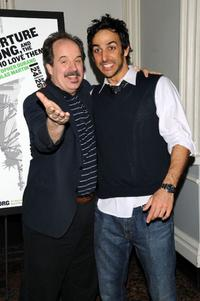 John Pankow and Amir Arison at the opening night of