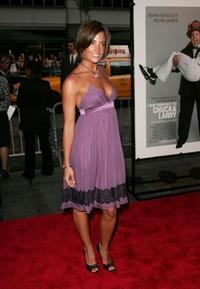 Jessica O'Donohue at the premiere of