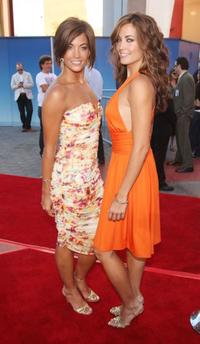 Jessica O'Donohue and Becky O'Donohue at the premiere of