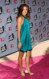 Becky O'Donohue at the 2007 MTV Movie Awards.