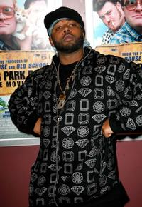 Tyrone Parsons at the premiere of