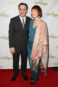 John Bucchino and Karen Akers at the opening night of