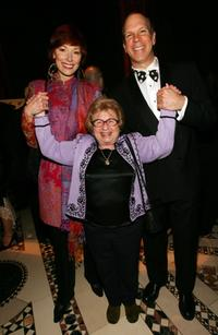 Karen Akers, Dr. Ruth Westheimer and David Zippel at the American Theatre Wing Annual Spring Gala.