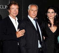 Jurgen Prochnow, Antonio del Real and Julia Ormond at the premiere of