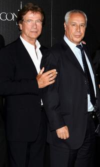 Jurgen Prochnow and Antonio del Real at the premiere of