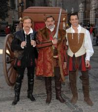 Jurgen Prochnow, Fabio Testi and Pablo Pujol at the photocall of