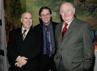 Lee Wilkof, Richard Thomas and Robert Prosky at the after party of the opening night of