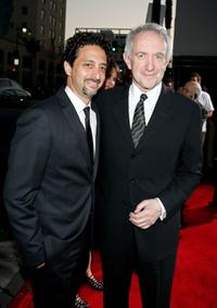 Grant Heslov and Jonathan Pryce at the premiere of