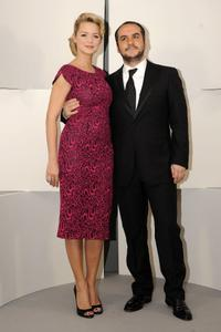 Virginie Efira and Francois-Xavier Demaison at the 35th Cesars French Film Awards ceremony.