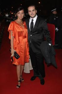 Francois-Xavier Demaison and Guest at the Cesar Film Awards 2008.