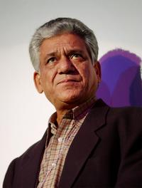 Om Puri at the screening of