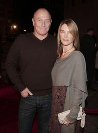 Corbin Bernsen and wife Amanda Pays at the premiere of
