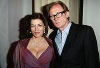 Diana Quick and Bill Nighy at the after party of