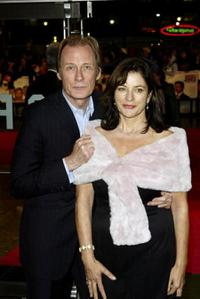 Bill Nighy and Diana Quick at the premiere of