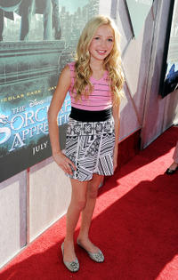 Peyton R. List at the California premiere of