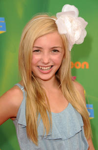 Peyton R. List at the Nickelodeon's 24th Annual Kids' Choice Awards in California.