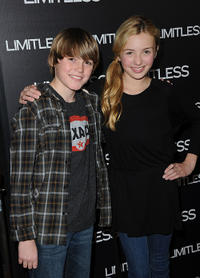 Spencer List and Peyton R. List at the California premiere of