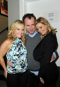 Rachael Harris, Colin Quinn and  Elizabeth Banks at the Malaria No More's