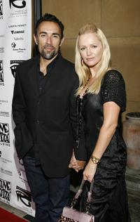 Francesco Quinn and wife Lisa at the 4th Annual Cinema Italian Style Festival Los Angeles and 2007 Cinema Italian Style Awards.