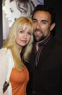 Francesco Quinn and his wife Julie at the Frederic Fekkai Presents Leona Edmiston Collection and Niessing Jewelry cocktail party.