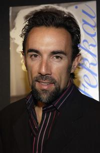 Francesco Quinn at the Frederic Fekkai Presents Leona Edmiston Collection and Niessing Jewelry cocktail party.