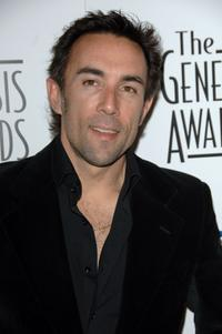 Francesco Quinn at the 21st Genesis Awards.