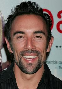 Francesco Quinn at the world premiere of