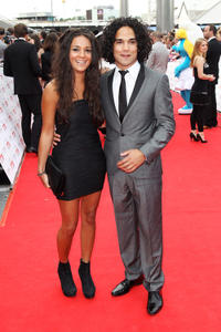Michelle Keegan and Reece Ritchie at the National Movie Awards 2011 in London.
