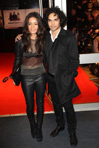 Reece Ritchie and Guest at the London premiere of