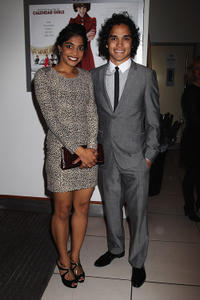 Amara Karan and Reece Ritchie at the world premiere of
