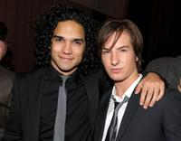 Reece Ritchie and Andrew James Allen at the after party of the premiere of