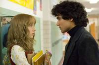Saoirse Ronan as Susie Salmon and Reece Ritchie as Ray Singh in