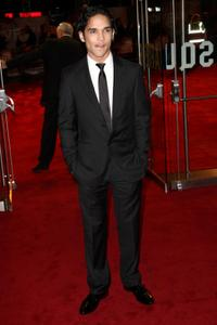 Reece Ritchie at the London premiere of