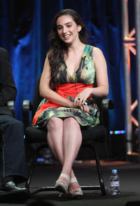 Molly Ephraim at the 2011 Summer TCA Tour in California.