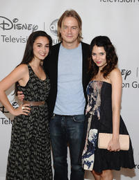 Molly Ephraim, Chrisoph Sanders and Alexandra Krosney at the TCA 2011 Summer Press Tour in California.