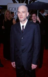R.E.M. at the 57th Annual Golden Globe awards.