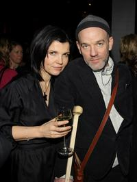 Ali Hewson and R.E.M. at the EDUN Fall/Winter 2008 Nocturne Collection Presentation.