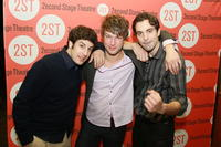 Jason Biggs, Peter Scanavino and Rhys Coiro at the opening night party of