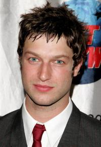 Peter Scanavino at the opening night for the Broadway play